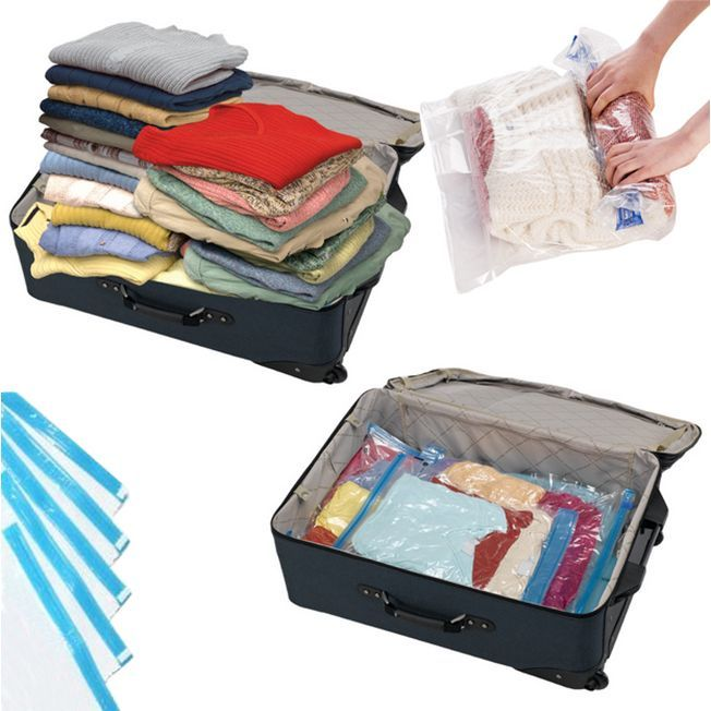 Enjoy The Convenience Of E Saving Vacuum Bag Technology No Matter Where You Are With These Travel Bags Need For A Four Just