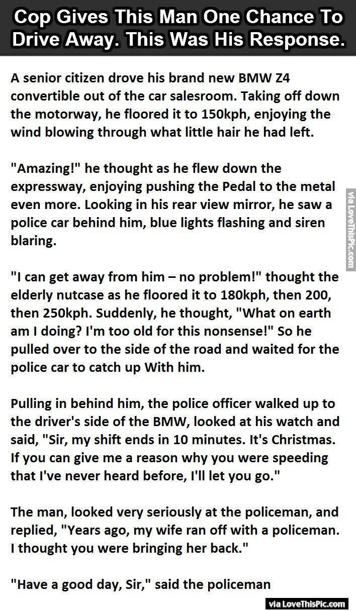 best funny cop stories