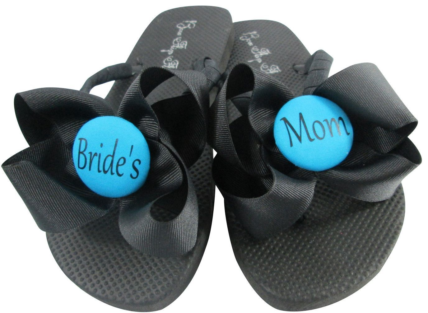 568639e94 Turquoise Wedding Flip Flops for the Bride s Mom