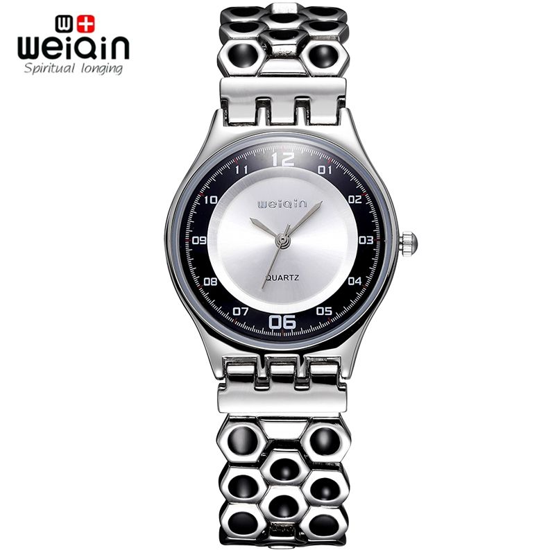 $25.99 (Buy here: https://alitems.com/g/1e8d114494ebda23ff8b16525dc3e8/?i=5&ulp=https%3A%2F%2Fwww.aliexpress.com%2Fitem%2FWEIQIN-Silver-Steel-Watches-Women-24-Hour-Analog-Quartz-Mvmt-Vintage-Fashion-Casual-Watch-Ladies-Dress%2F32566065476.html ) Brand WEIQIN Women Watches Stainless Steel Band Honeycomb Analog Sports Quartz Wristwatch Ultra Thin Dial Luxury Watches women for just $25.99