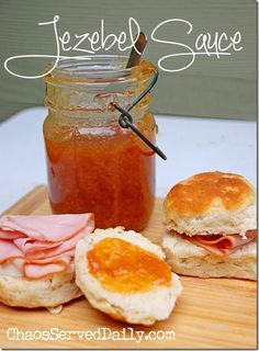 I've blogged about Jezebel Sauce a couple of times before, but always as an appetizer, poured over cream cheese and snacked on with crackers. But, y'all…it makes a wonderful gift, as well, for your...