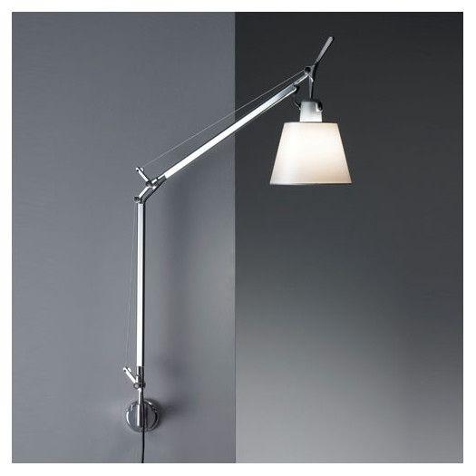 Artemide Tolomeo Swing Arm Wall Lamp Allmodern Swing Arm Wall Lamps Wall Lights Wall Lighting Design