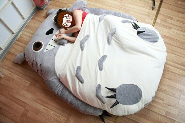 Need Totoro Bed Totoro Kawaii Room Plush
