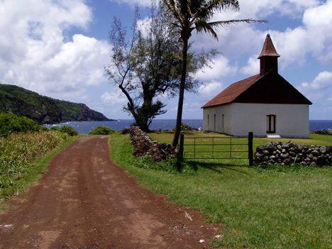 Hawaii, Maui, Kaupo: the Hui Aloha Church Restoration Led By Carl Lindquist. by richard sullivan, via Flickr