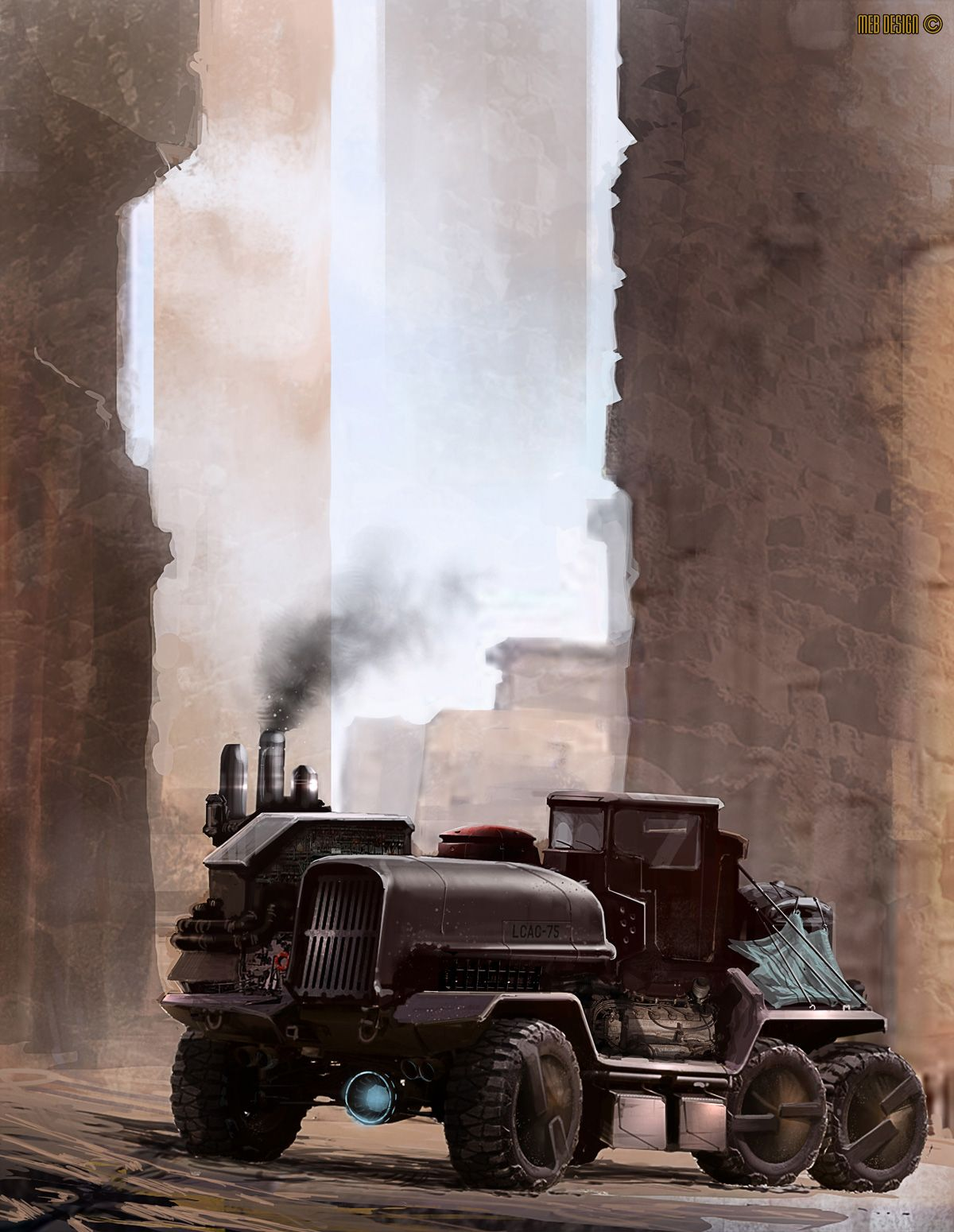 Trucks of the Future Concept cars, Dieselpunk vehicles
