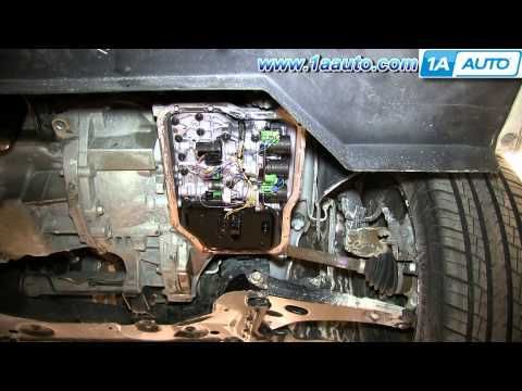 How To Service Change Transmission Fluid And Filter Ford Focus Ford Focus Manual Transmission Fluid Change Transmission Service