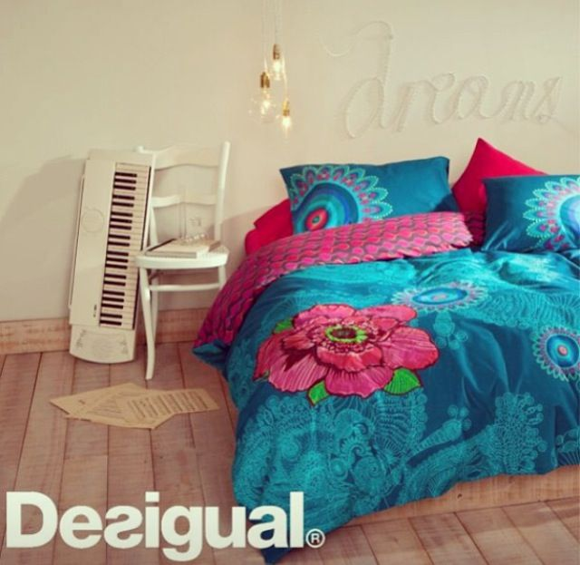 Love this desigual bedding for the home pinterest - Desigual home decor ...