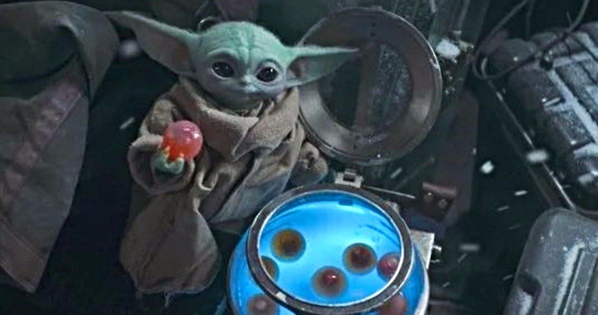 Baby Yoda S Egg Eating Was Intentionally Disturbing Lucasfilm Defends Controversy Mandalorian Yoda Fun To Be One