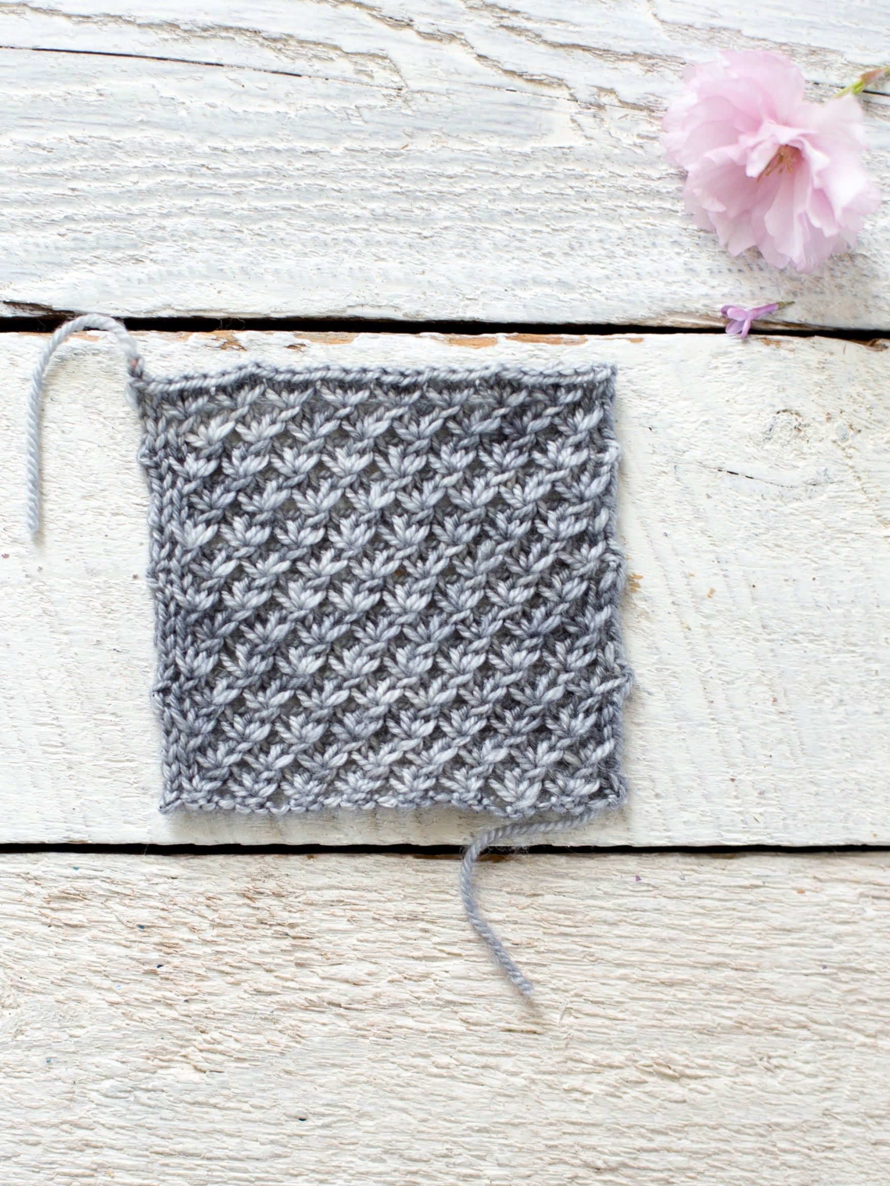 How To Make An Easy Lace Knit Shawl Pattern   Lace knitting, Knit ...