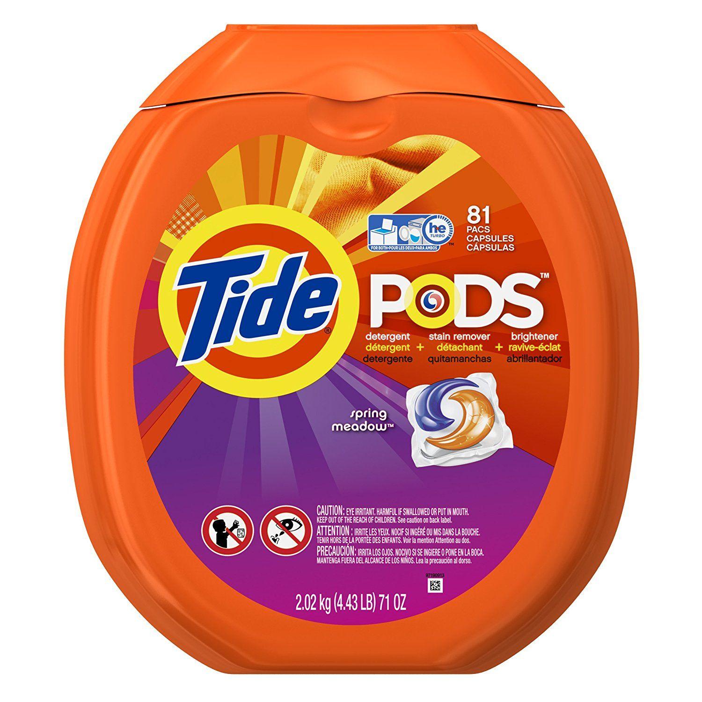 Tide Spring Meadow Laundry Detergent Pods Detergente Detergente