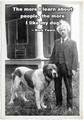 So true!!!!  Well said Mr Twain!