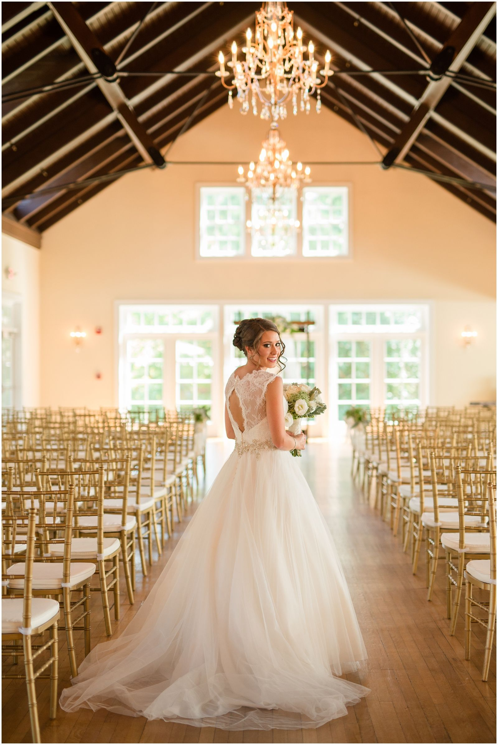 Green, Gold and Ivory Wedding at Woman\'s Club of Portsmouth | Audrey ...