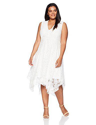 GRACE KARIN Women\'s Plus Size Lace Sleeveless Midi Dress ...