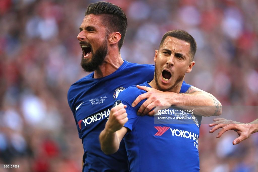 Chelsea V Manchester United The Emirates Fa Cup Final Fa Cup Eden Hazard Fa Cup Final