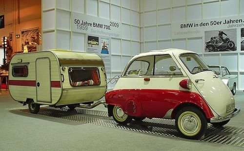 BMW isetta - trailer