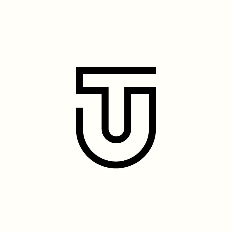 Tu Monogram By Richard Baird Available Logo Branding Logo