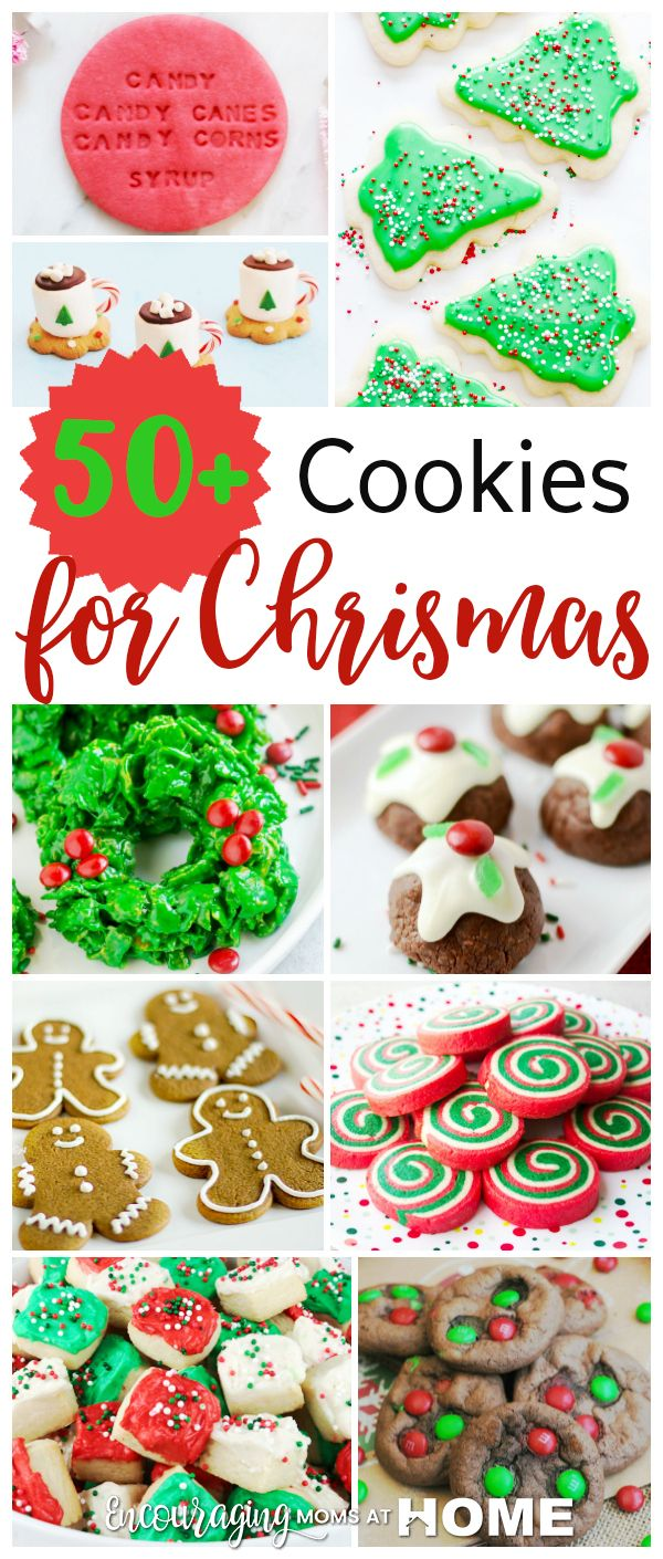 Christmas Cookie Recipes with Pictures | Encouraging Moms At Home ...