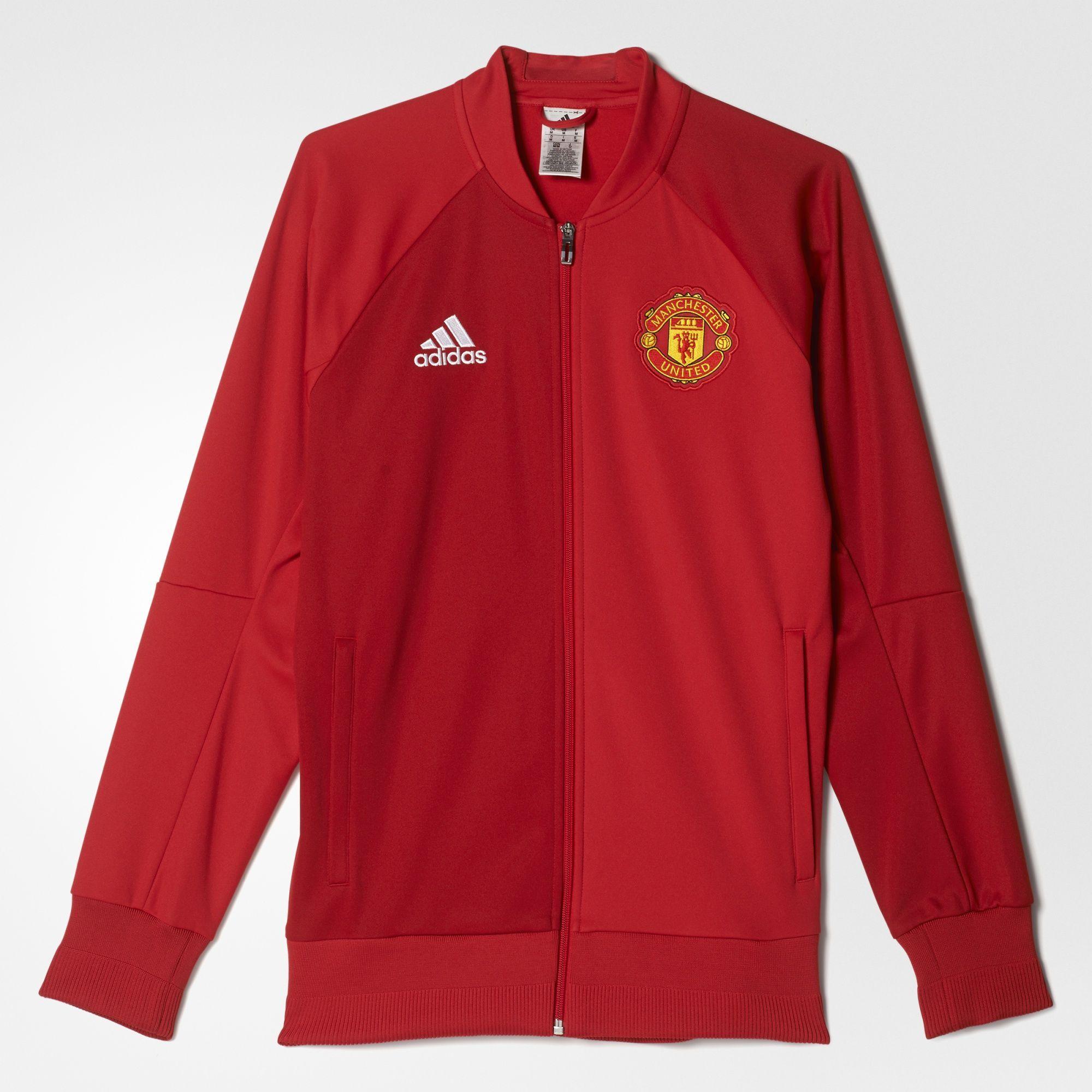 37b4ab3a2a9f5 adidas - Chaqueta Himno primera equipación Manchester United FC ...