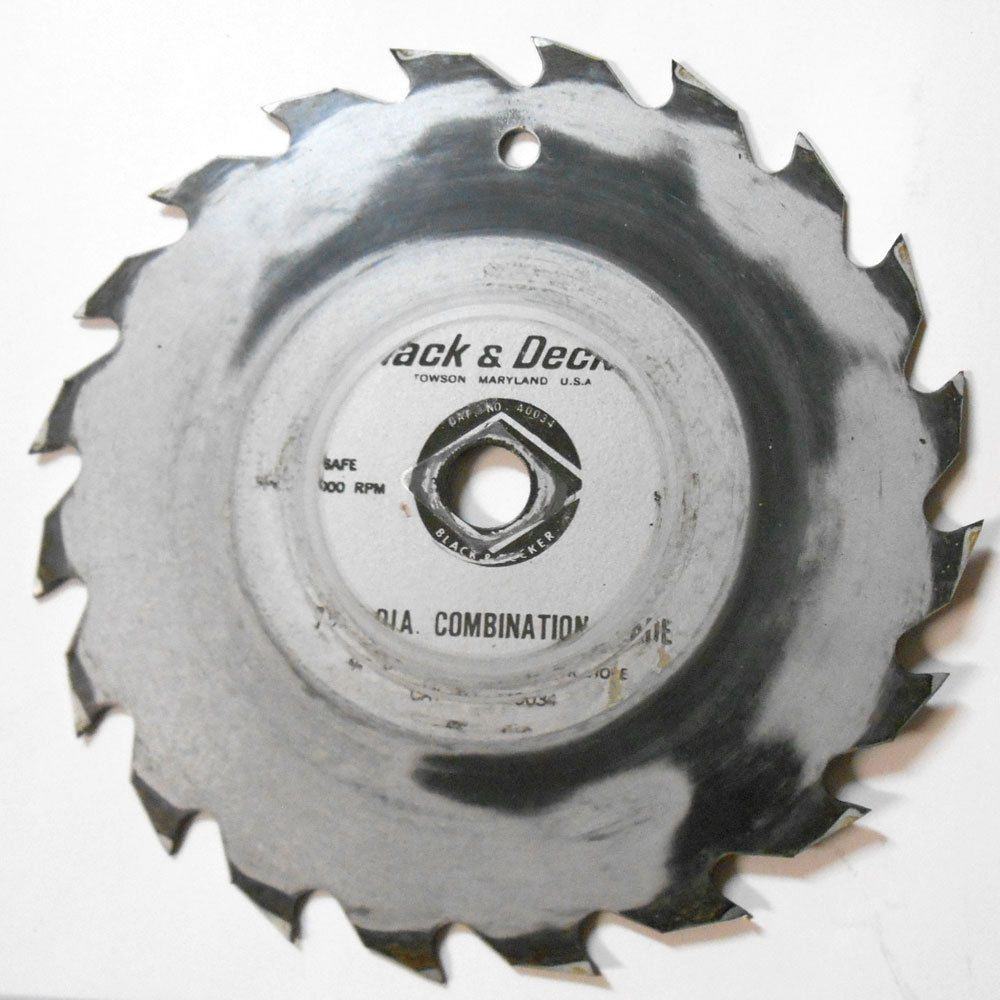Black Decker Electric Saw Blades