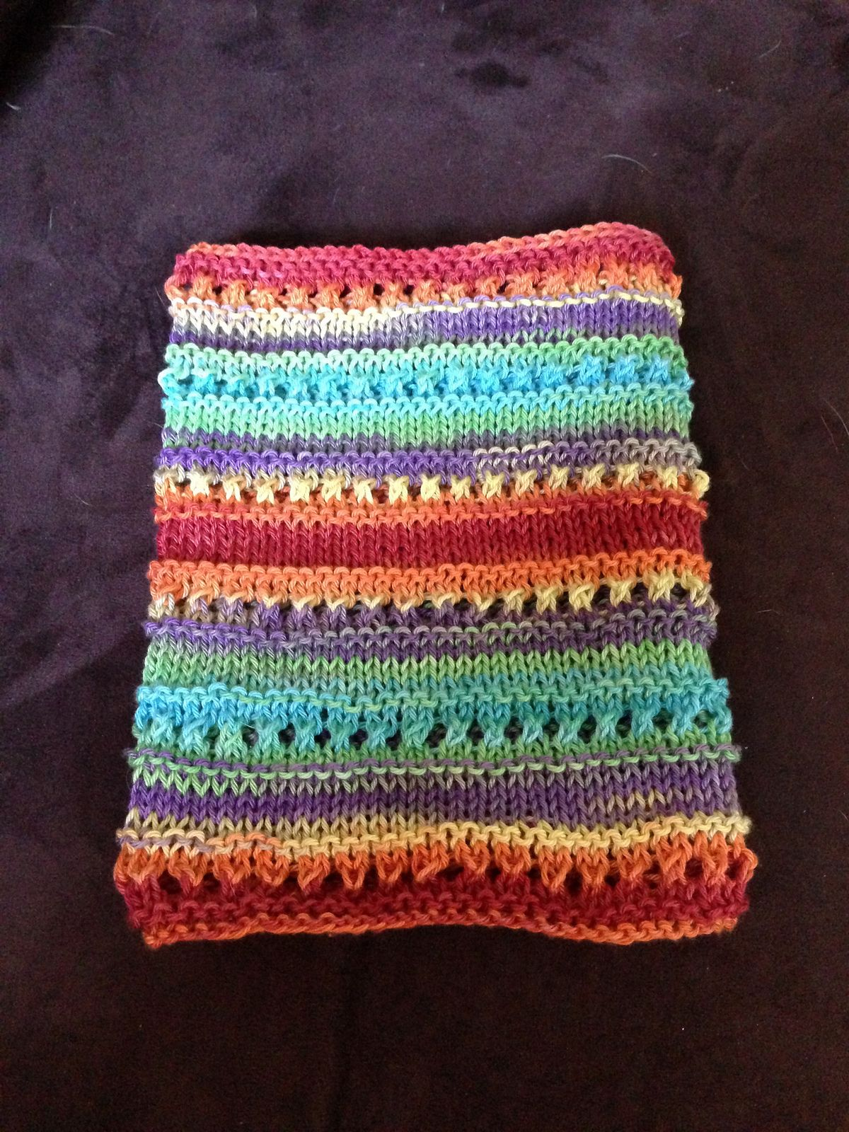 Birthday Cake Cowl By Christina Wall - Free Knitted Pattern ...