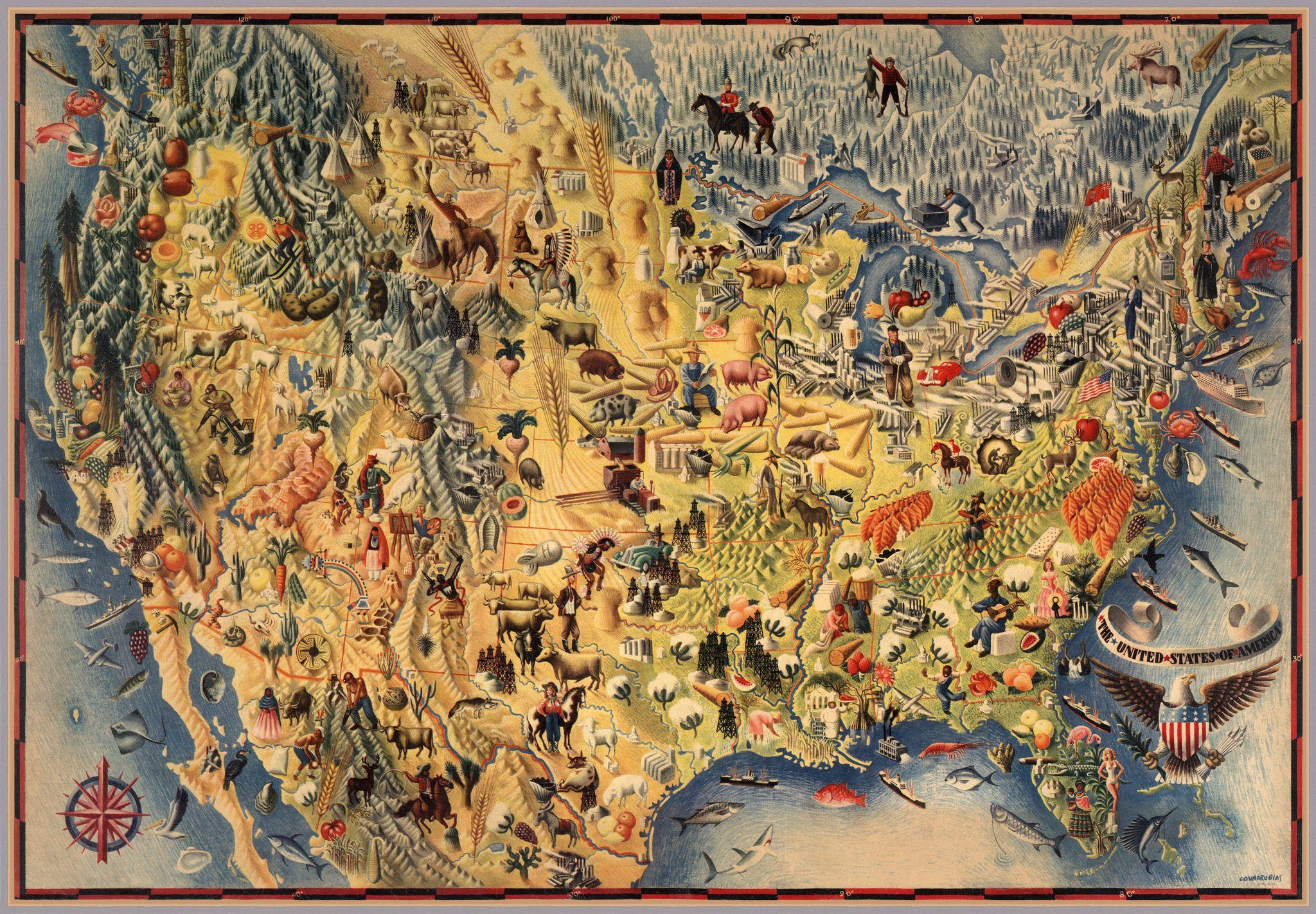 USPictorialMap Pictorial maps