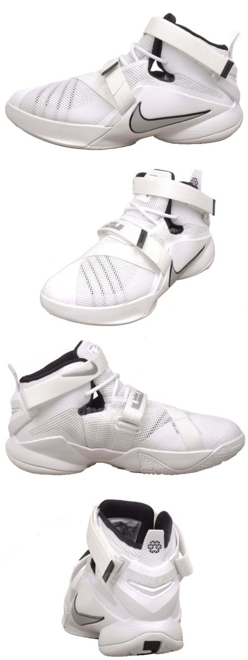 youth 158973 nike lebron soldier ix gs basketball 9 kids youth shoes white 776471