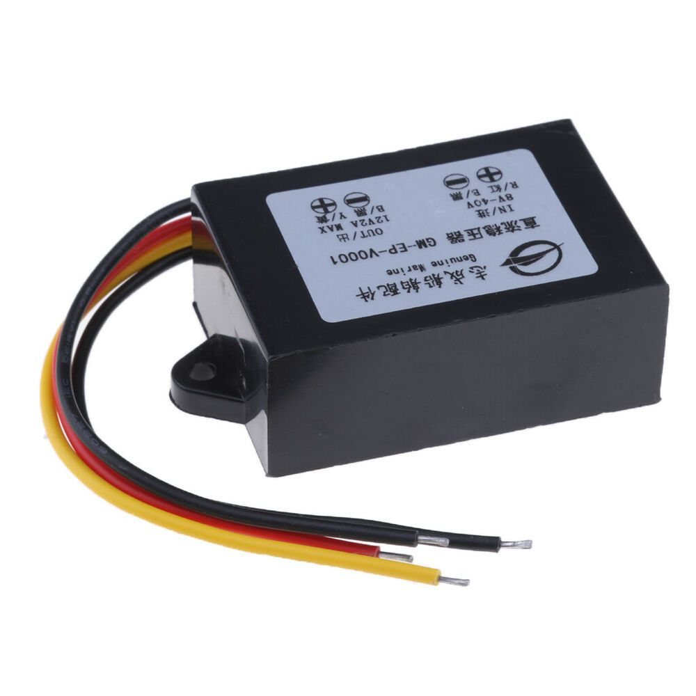 Details About Dc 12v Power Transformer Voltage Regulator For Auto Marine Boat Yacht Rv Voltage Regulator Ebay Marine Boat
