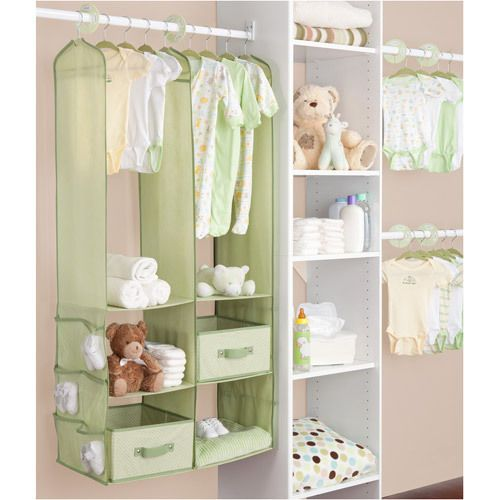 Baby Diapers Storage Organizer Baskets Hanging Closet Bins Crib Changing  Table