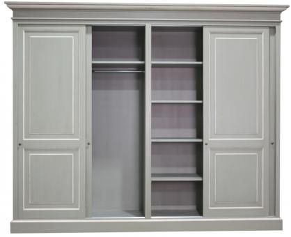 Ecs Sliding Door Wardrobe Painted A Block And Chisel Product Tall Cabinet Storage Storage Spaces Sliding Doors