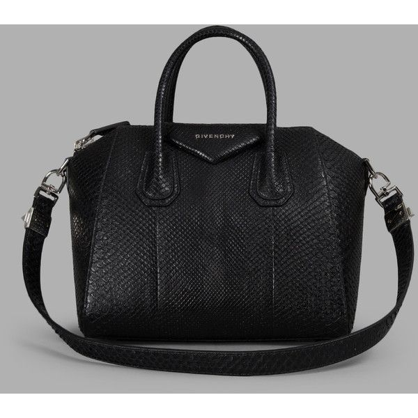 Givenchy Tote Bags ($4,442) ❤ liked on Polyvore featuring bags, handbags, tote bags, black, leather zip tote, zip tote, black purse, leather handbags and black tote bag