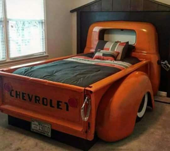1950 S Chevrolet Pickup Bed House Ideas Truck Bedroom