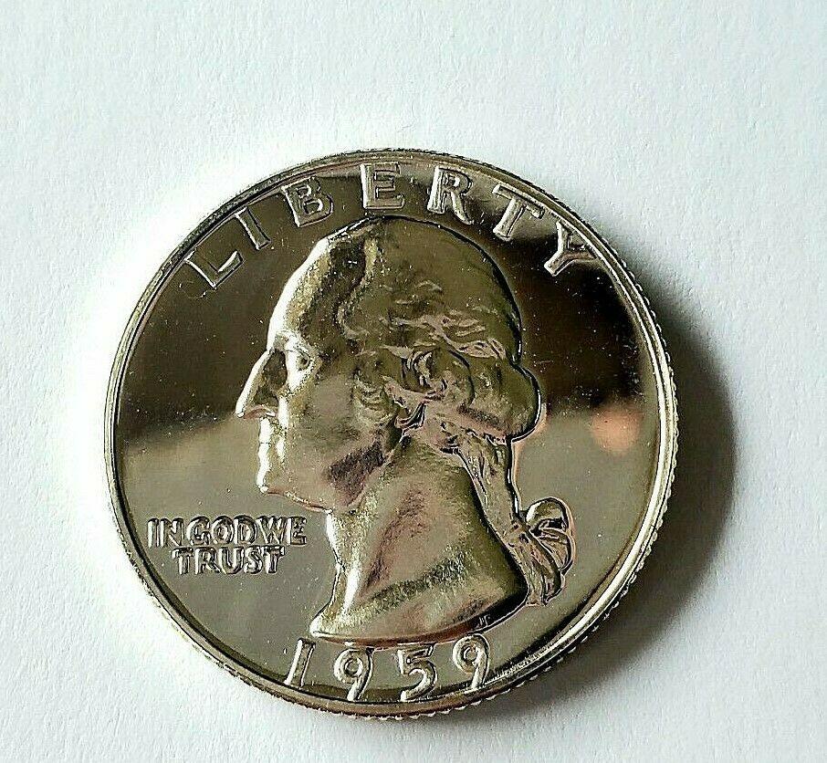 CANADA 1959 SILVER GEM BU SILVER DOLLAR #A