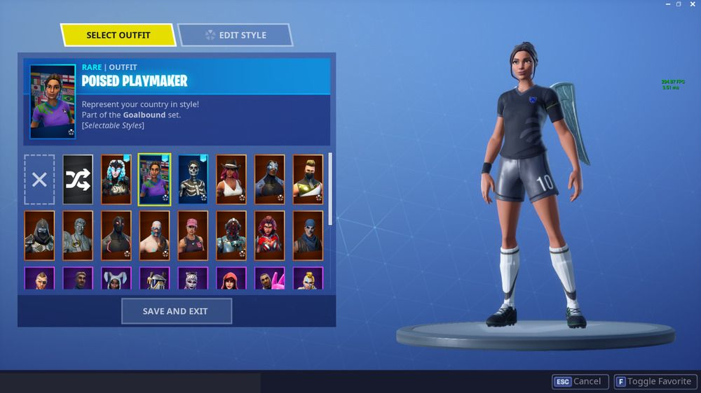 Rare Fortnite Account With Poised Playmaker And Og Skins