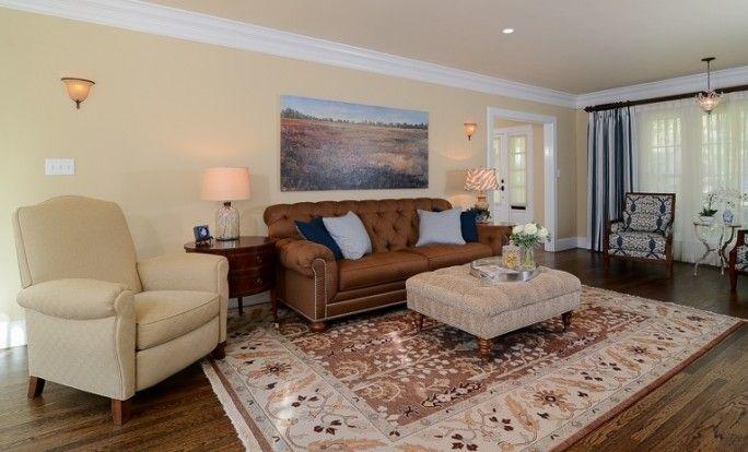 Refined American Charmer living room