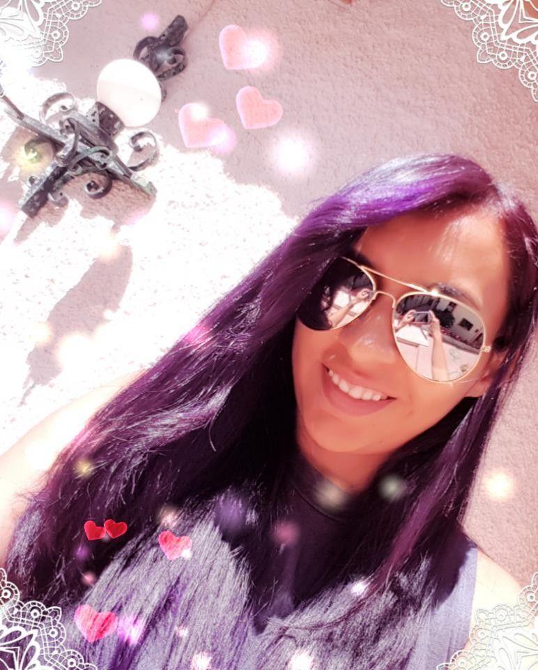 Cabello Morado  Purple #hairstyle