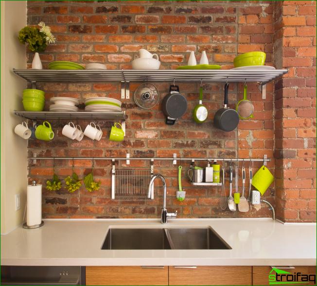 Küche ohne Oberschränke: 75 erstaunliche funktionelle Ideen ...