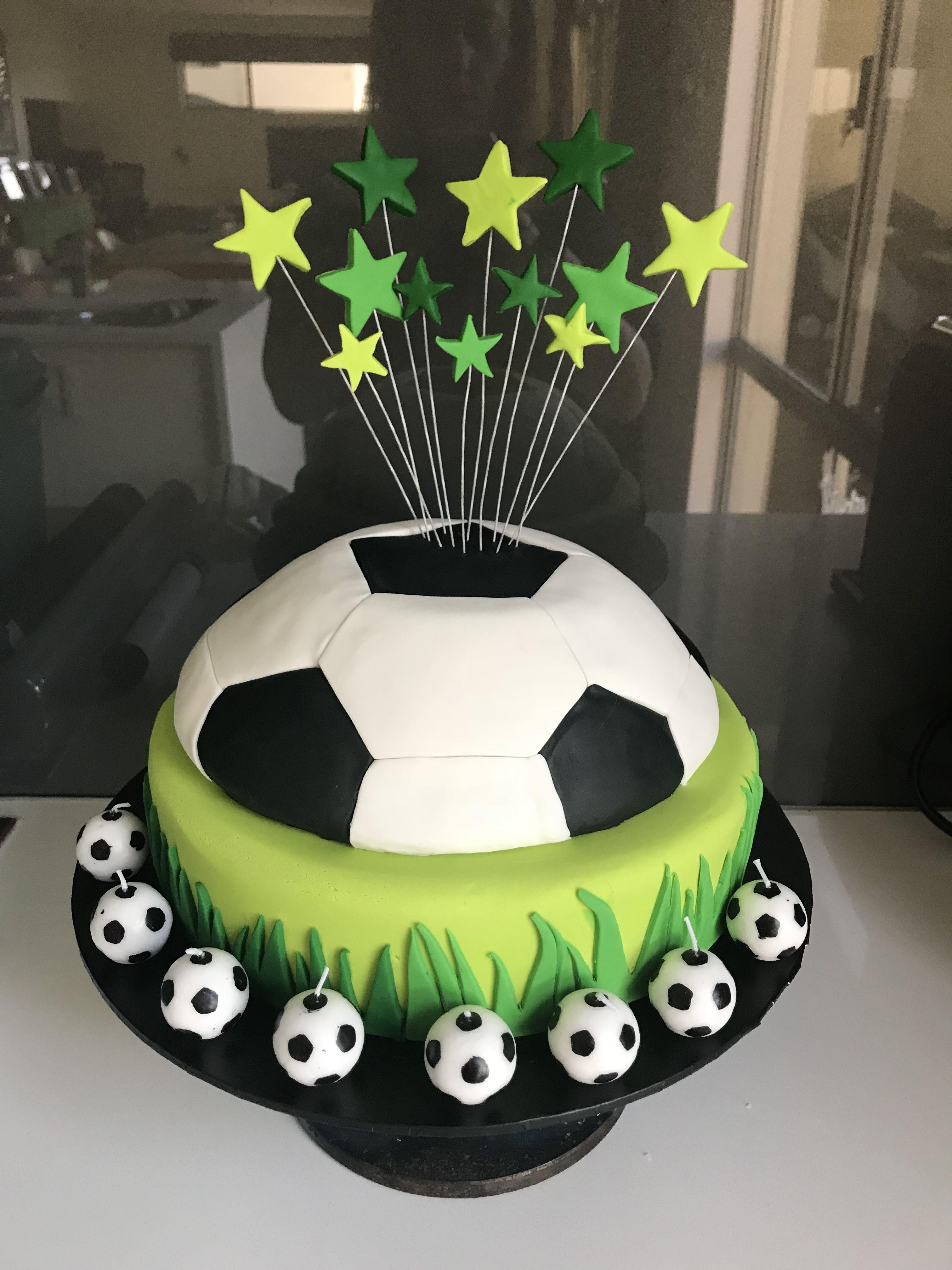 Soccer Ball Birthday Cake Art Cakes Pinterest Cake Birthday