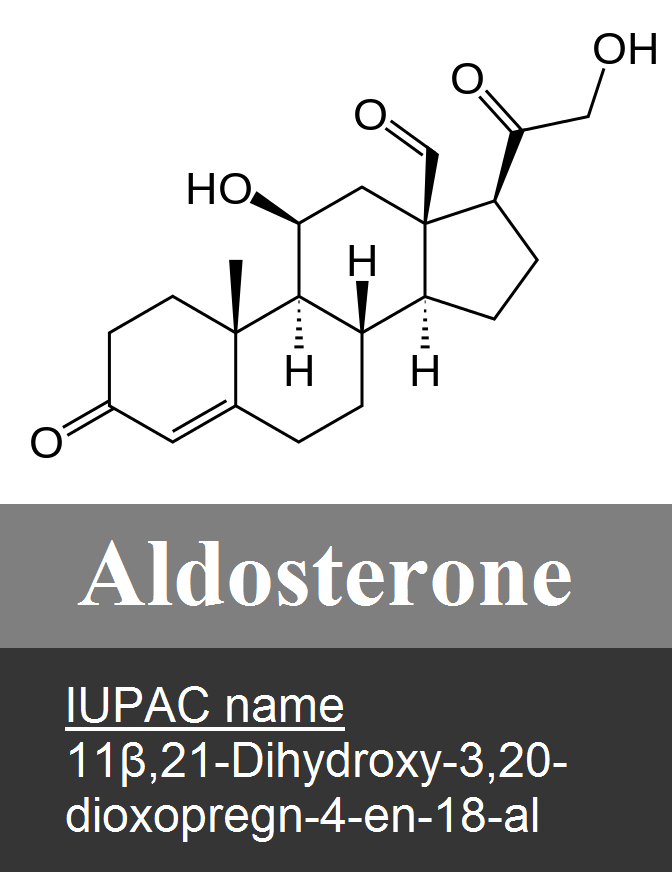 Aldosterone, is a steroid hormone, \