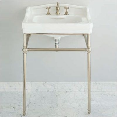 Metal Console Sink Stands Modern Architecture Decorating Ideas