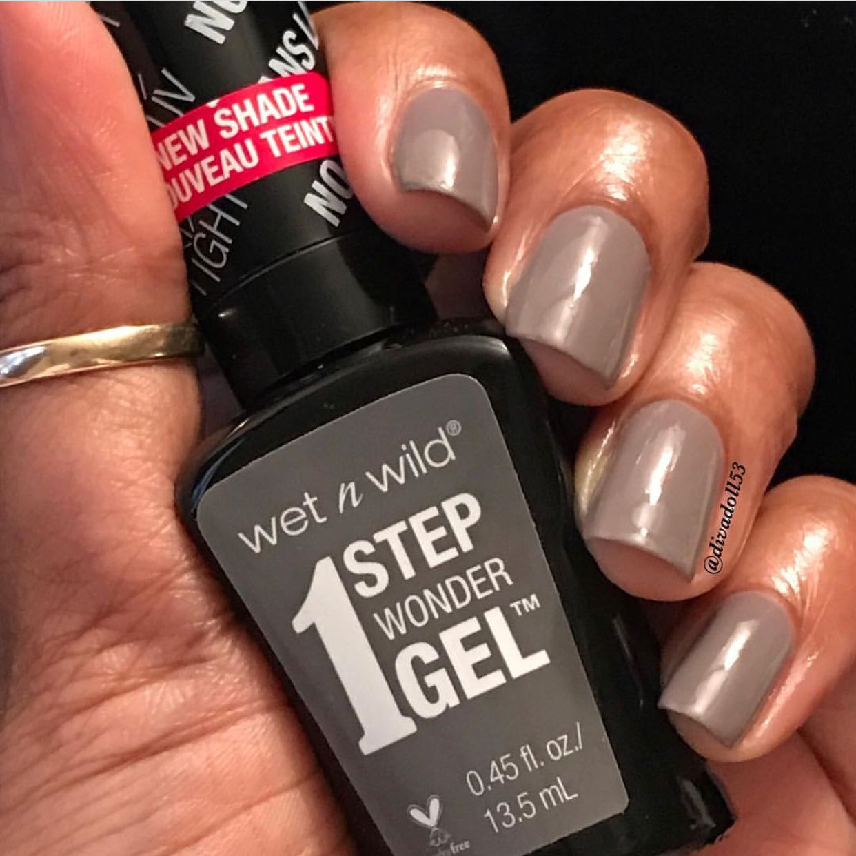 Taupe As A Joke By Wet N Wild Nail Polish Swatch Nail Polish On Dark Skin Nail Polish Skin Polish Taupe Nail Polish