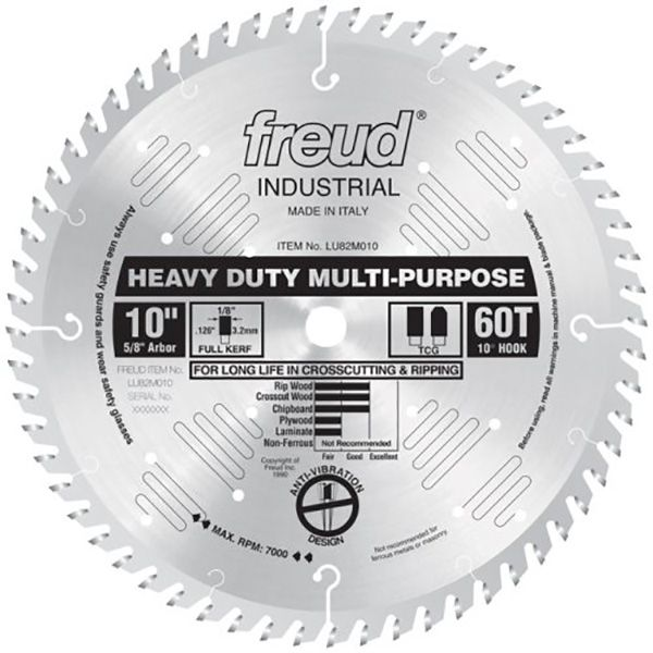 Blade 60t Fine Large Circular Saw Blades Table Saw Blades Sliding Compound Miter Saw