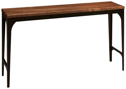 Amisco Elwood Sofa Table In 2020 Industrial Sofa Table Table Furniture