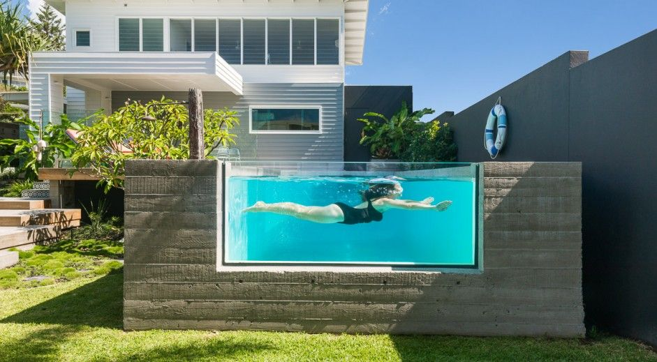 Pool Windows Acrylic Pool Viewing Installations For Residential Or Commercial Applications Australia Wid Courtyard House Plans In Ground Pools Dream Backyard