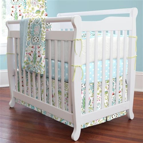 Bebe Jardin Mini Crib Bedding Set