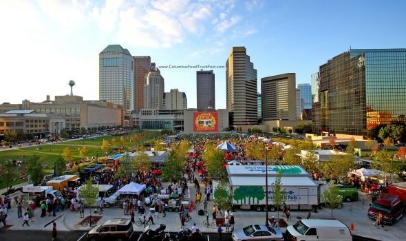 Columbus Food Truck Festival - 2013