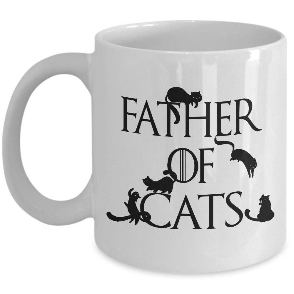 Cat dad mug game of thrones cat father of cats coffee cup