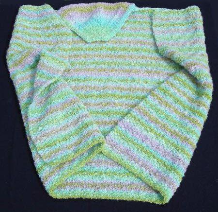 Easy Hooded Baby Blanket Knitting Pattern | Knitting | Pinterest ...