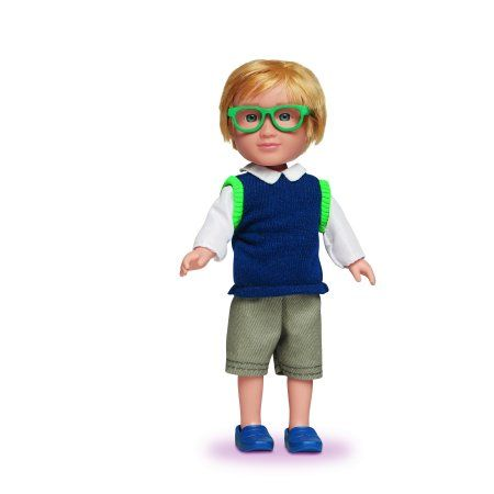 My Life As 7-inch Mini Doll School Boy Blonde