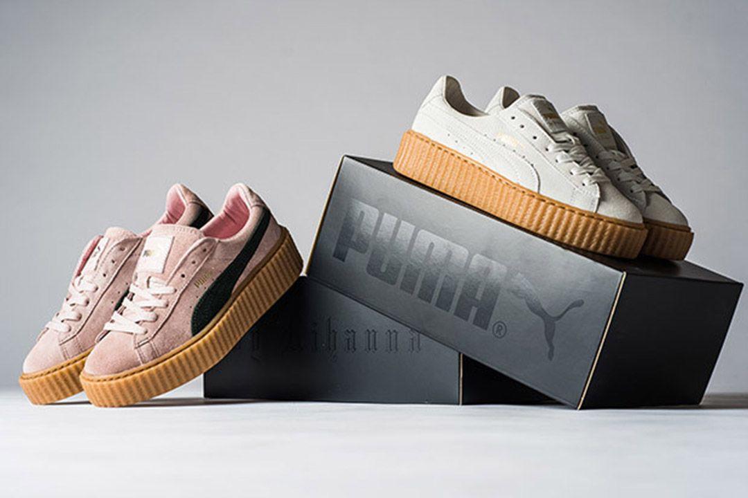 puma sneaker creeper suede