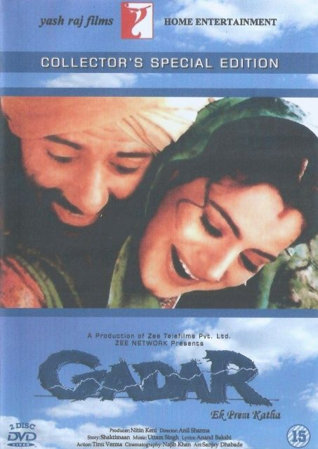 Gadar Ek Prem Katha 2001 Hindi Movies Bollywood Movie Movies